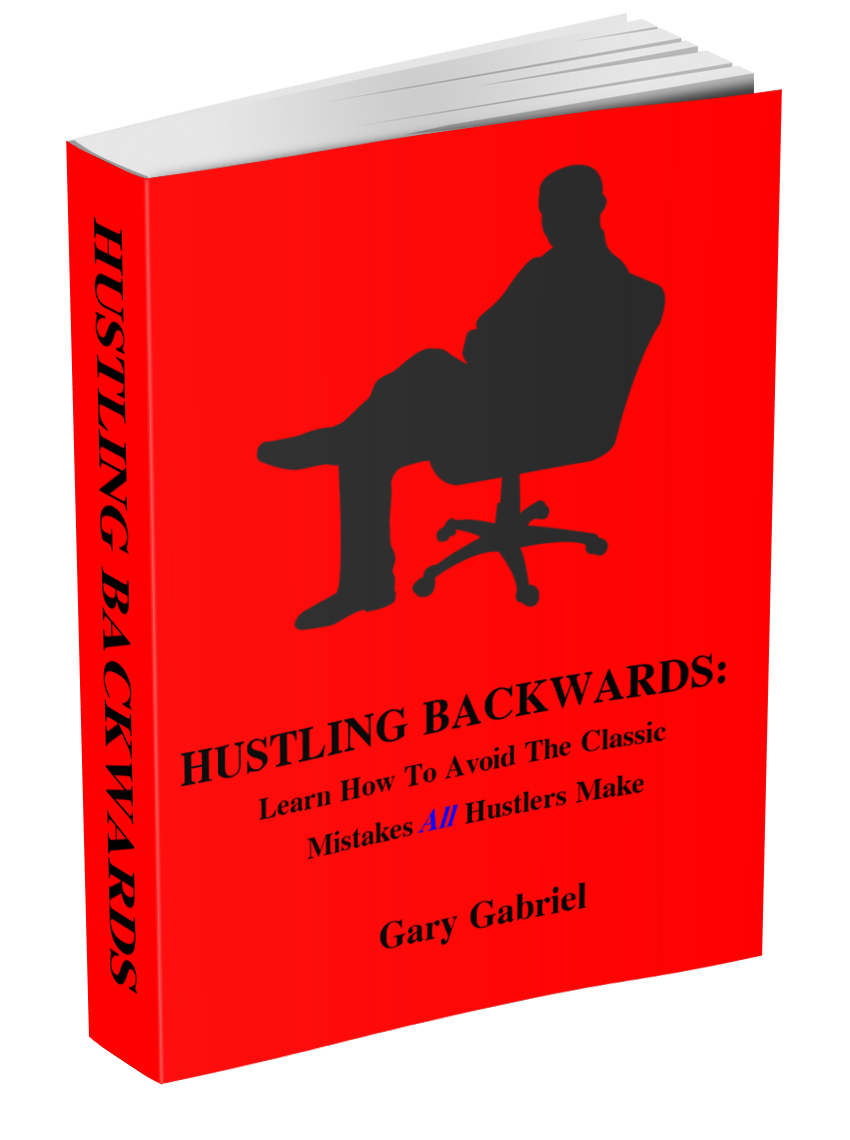 Book cover for Hustling Backwards